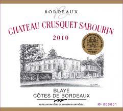 Château Crusquet Sabourin