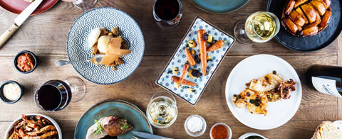 Die herbstliche Gourmet-Tafel von Clément & Mathilde
