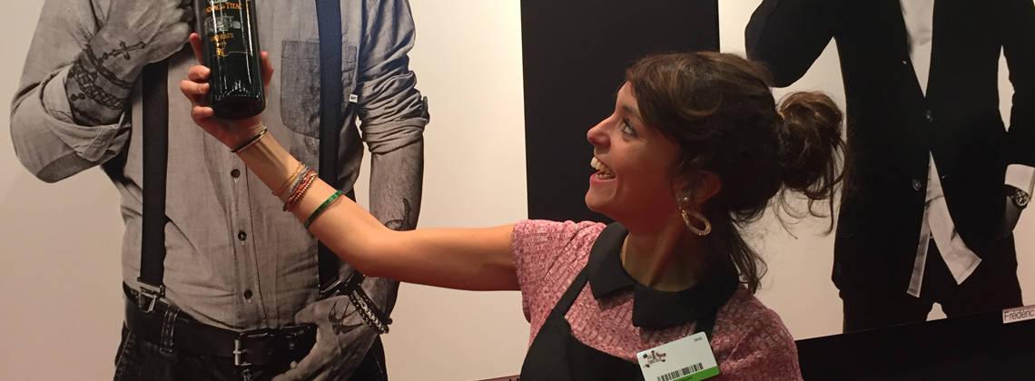 Rencontre avec Stephanie Cruzado au Salon du Chocolat 2016