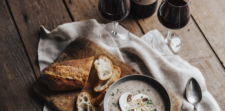 Bordeaux + Soup Pairings We Can't Stop Sipping