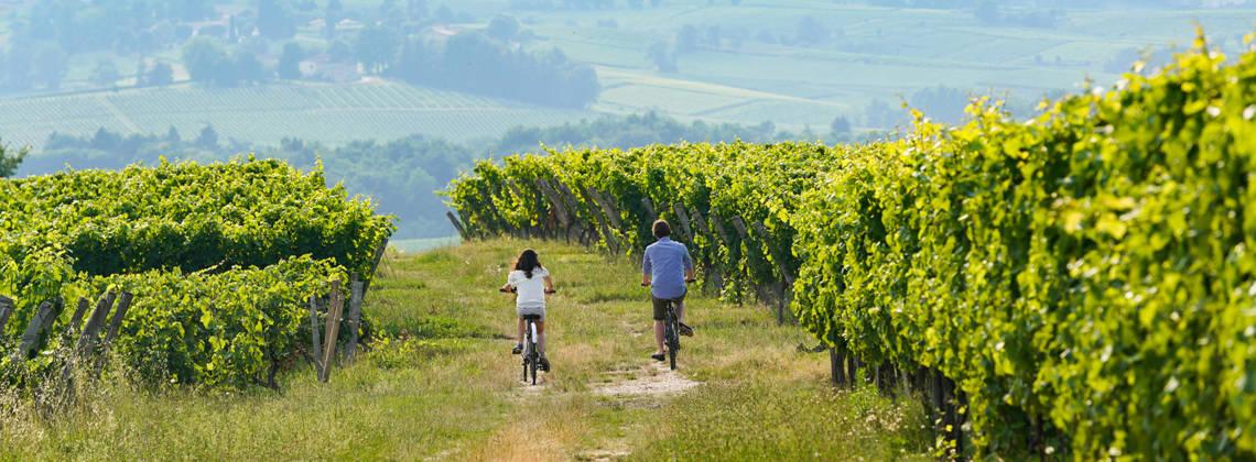 Ein Wochenende mit dem Rad durch Bordeaux