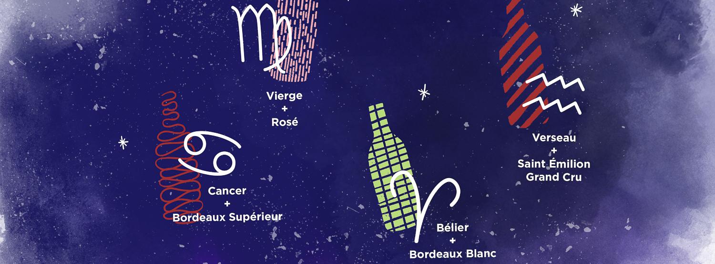 Quel vin de Bordeaux correspond à votre signe astrologique ?