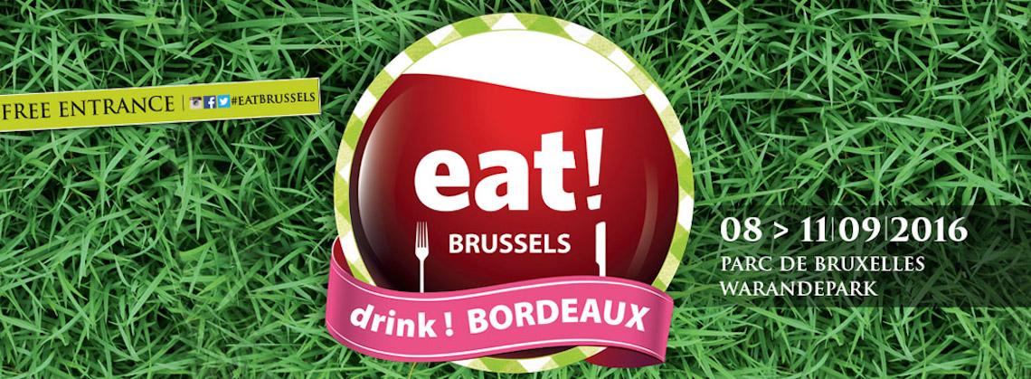 5 tips voor eat! BRUSSELS drink! BORDEAUX