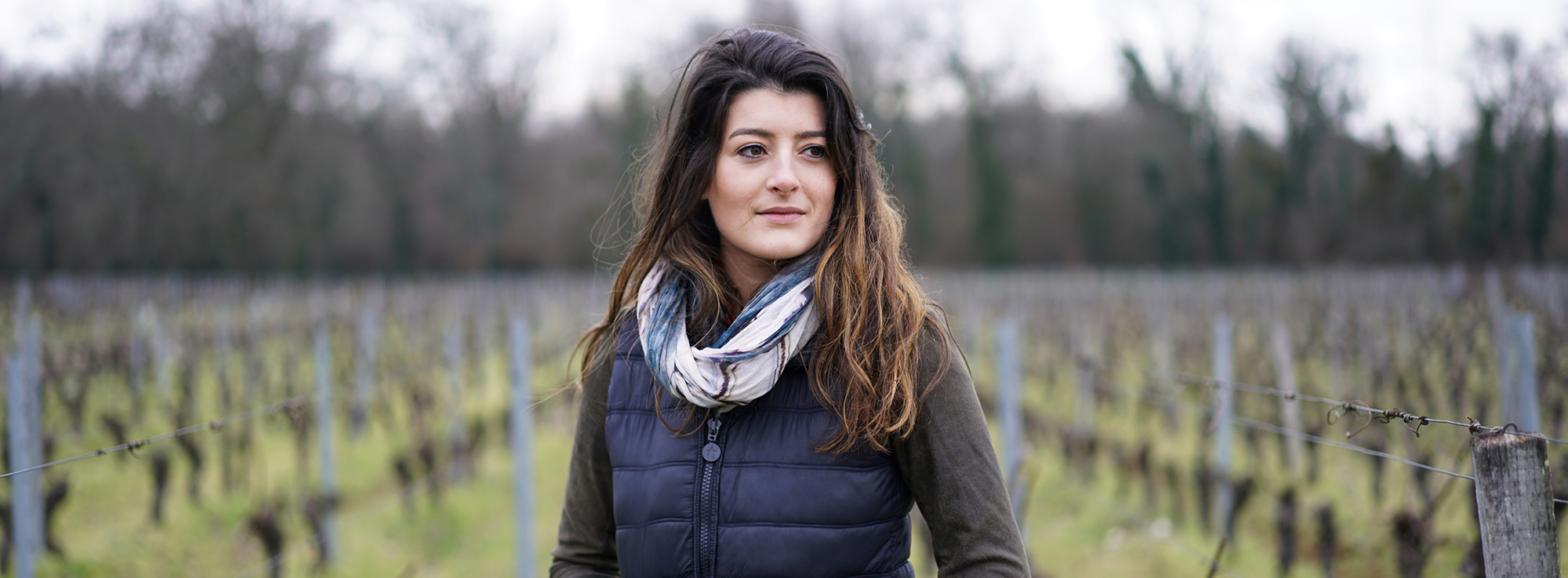Léa Rodrigues-Lalande: young, female, winemaker.