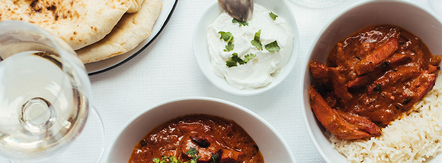Pair a delicious, exotic Indian dinner with Bordeaux wines