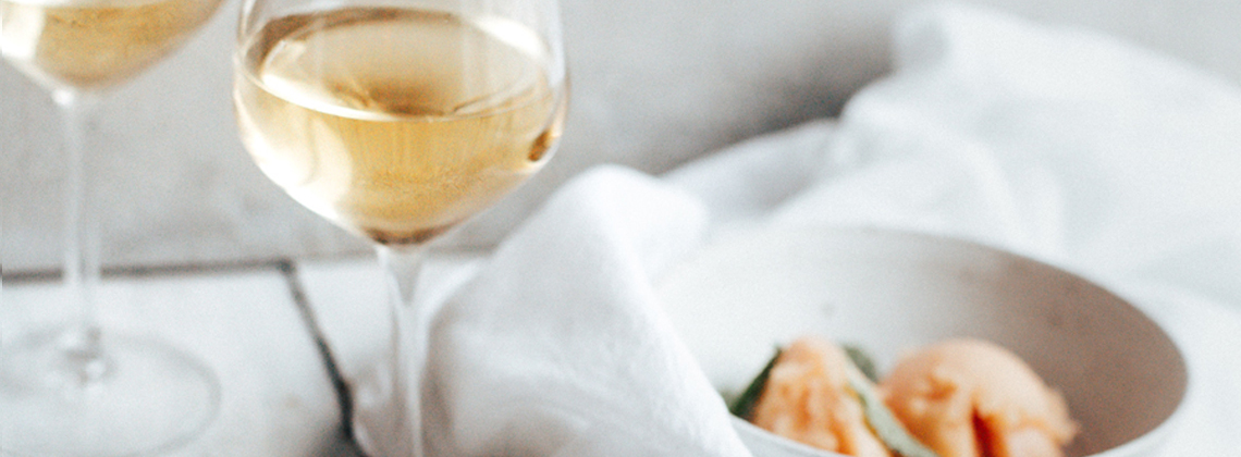 Sorbet & Sauternes: an unusual—but delicious—match made for summer